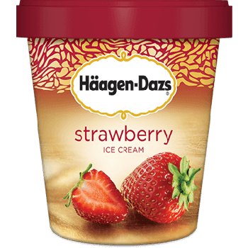 Haagen-Dazs Strawberry single serve
