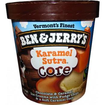 Ben & Jerry's Ice Cream Karamel Sutra Core