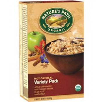 Nature's Path Instant Oatmeal Variety Pack Organic - 8 ct