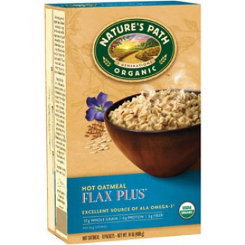 Nature's Path Instant Oatmeal Flax Plus Organic - 8 ct