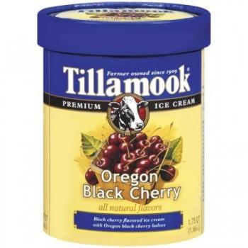 Tillamook Ice Cream Oregon Dark Cherry