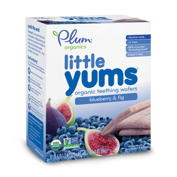 Plum Organic's Little Yums Blueberry and Fig