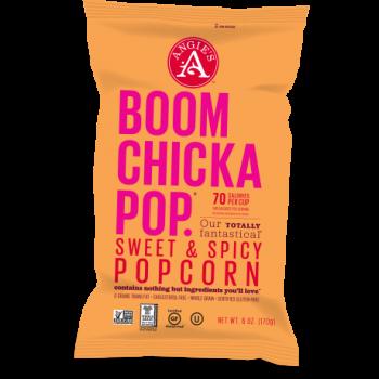 Angie's BOOMCHICKAPOP. Sweet & Spicy Popcorn