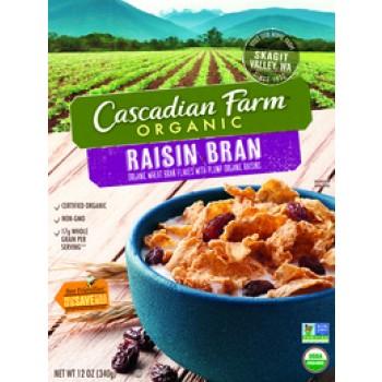 Cascadian Farm Organic Raisin Bran Cereal