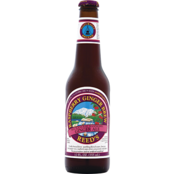 Reed's Raspberry Ginger Brew All Natural - 4 pk