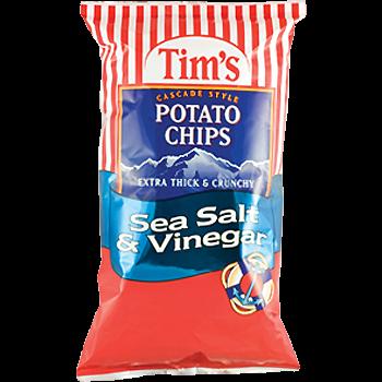Tim's Cascade Snacks Potato Chips Sea Salt & Vinegar