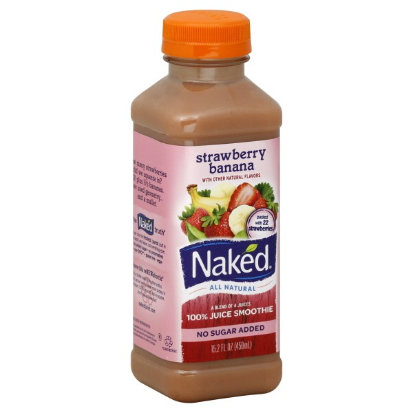 Buy Naked - Strawberry Banana Juice with Toronto Delivery