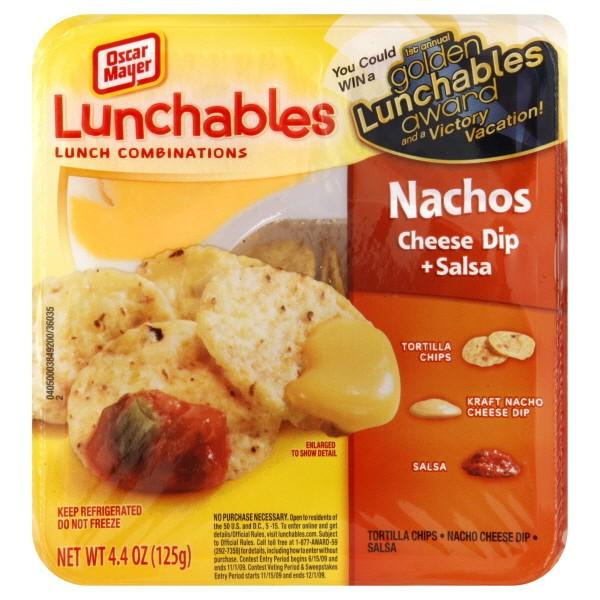 Oscar Mayer Lunchables Nachos With Cheese Salsa