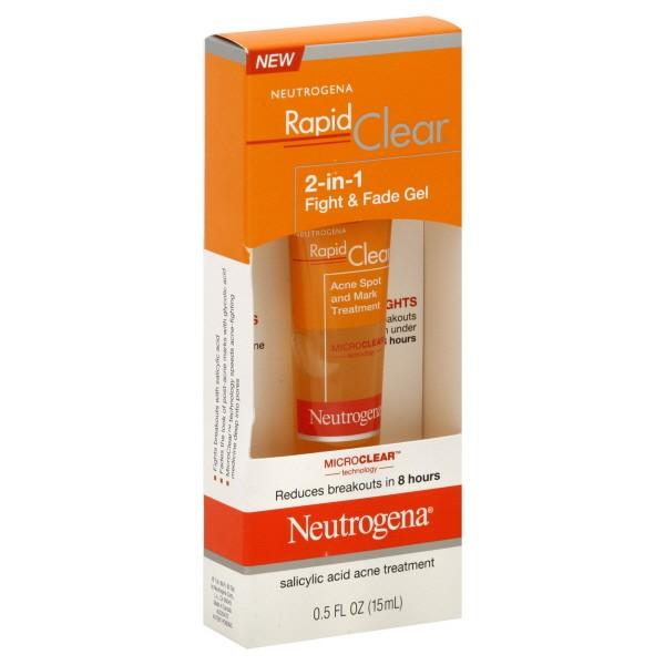 Neutrogena Rapid Clear 2 In 1 Fight Fade Acne Treatment Gel