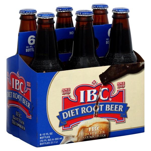 is ibc diet root beer gluten free